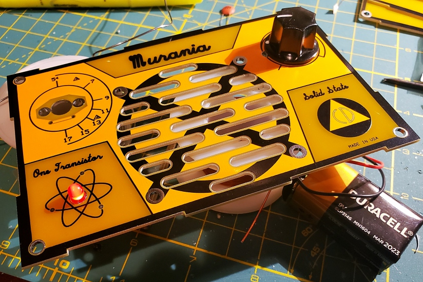 "The Murania ""One Transistor"" Boy's Radio Kit"